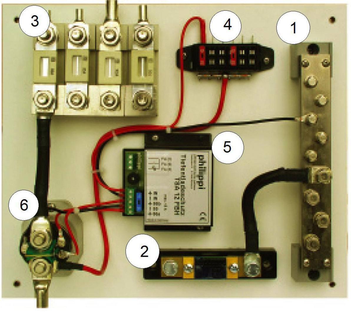Bordelektrik Teil 5 - Verkabelung und Kennzeichnung der Kabel ...