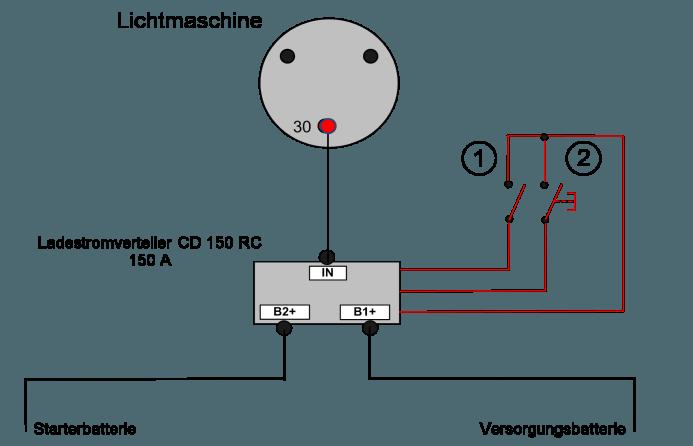 Charmant Lichtmaschine Schaltplan Interner Regler Galerie ...