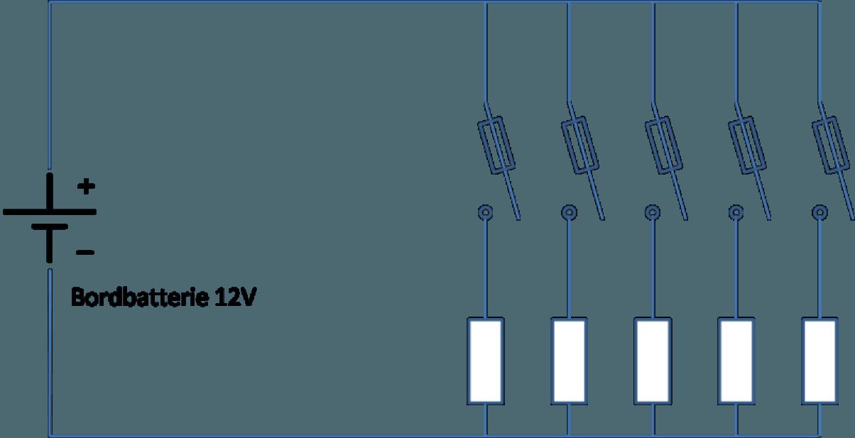 Grundlagen der Bordelektrik - Strom, Spannung & Co. für die ...