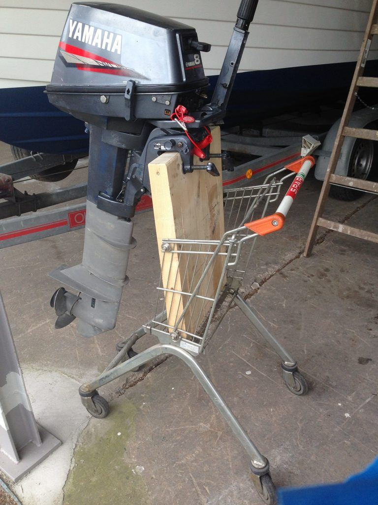 au enborder transportieren und lagern trolley und st nder selbst gebaut. Black Bedroom Furniture Sets. Home Design Ideas