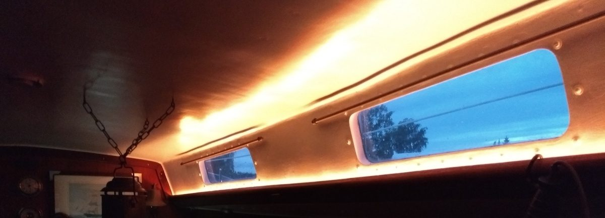 g nstige und vielseitige led beleuchtung unter deck klabauterkiste. Black Bedroom Furniture Sets. Home Design Ideas