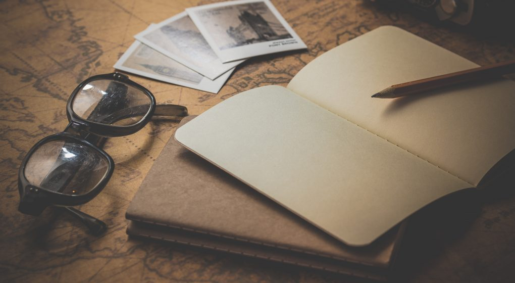Notitzbuch für Berichte
