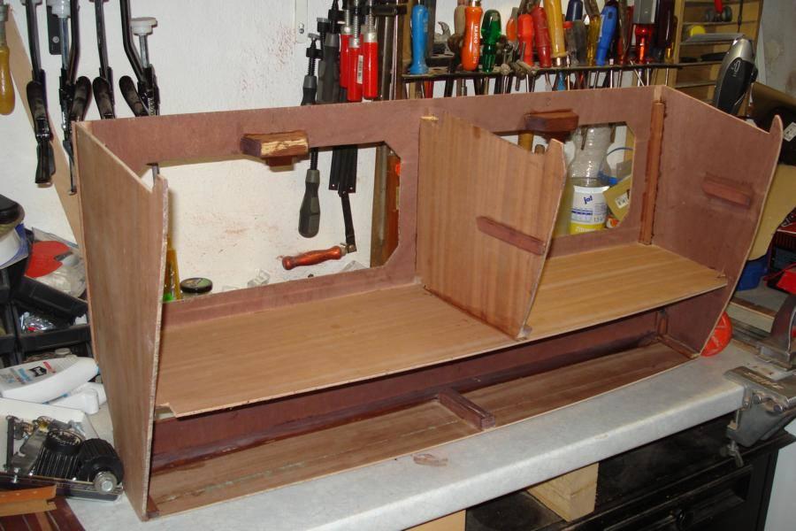 schapps bauen f r eine micro neptune 550 klabauterkiste. Black Bedroom Furniture Sets. Home Design Ideas
