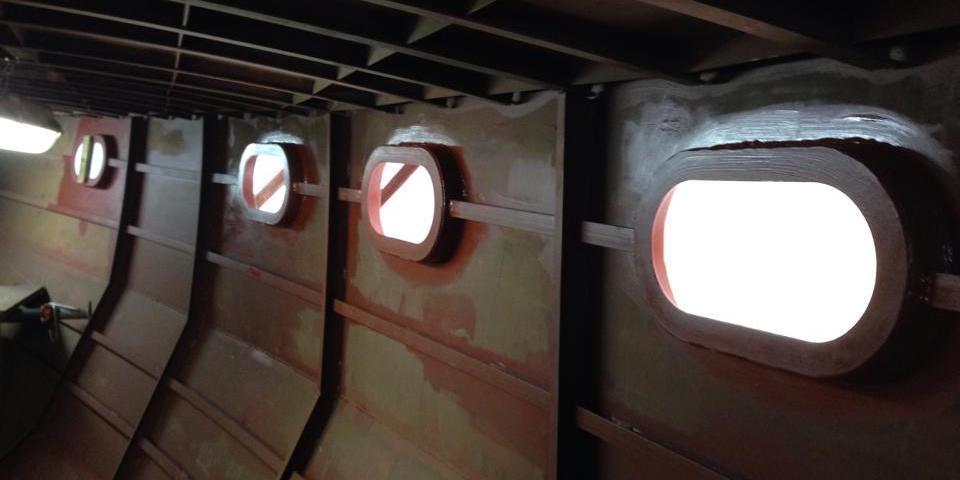 Stahlyacht im Eigenbau Teil 2 - Decksaufbauten und mehr