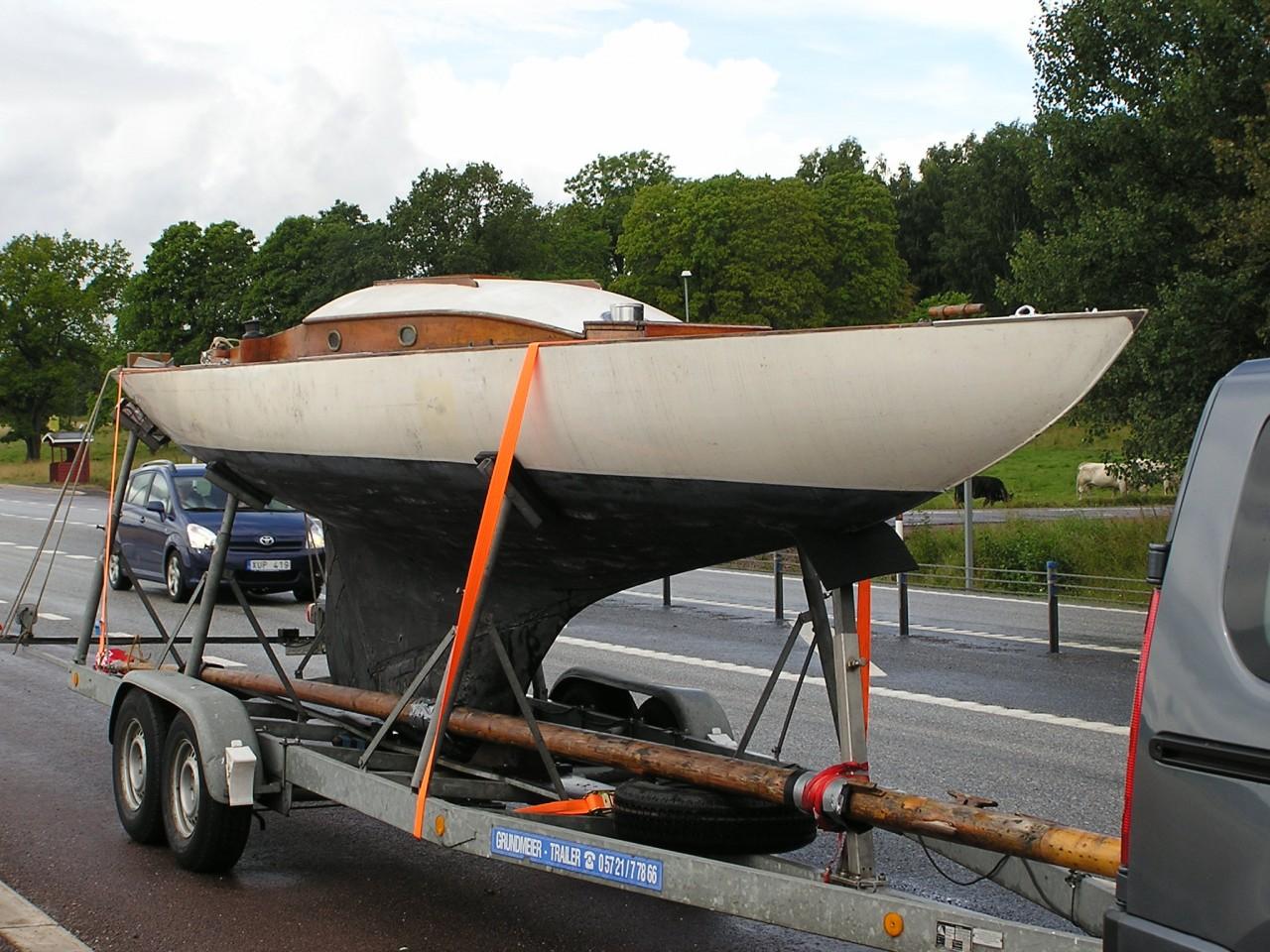 holzboot-restaurierung: sk15 solgun (schärenkreuzer aus holz)